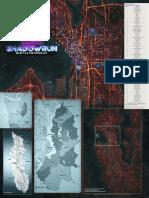 Shadowrun 6E - Beginner Box - Poster Map
