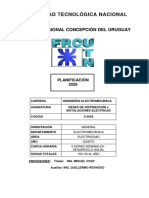 PLANIFICACION 2020 - X9555