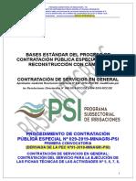 BASES INTEGRADAS  PEC N°29 - 2019