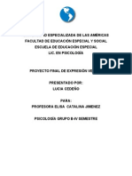 proyecto final de español