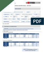 Formato IGA informe de gestion anual
