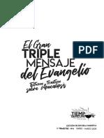 EL TRIPLE GRAN MENSAJE DEL EVANGELIO - 1º Tri - 2020 [C_REGLONES].pdf