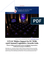 LULAC Makes Impact in DC With 23rd Annual Legislative Awards Gala