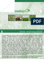 BrasilAgro 2010 Corporate Presentation Slides Deck PPT