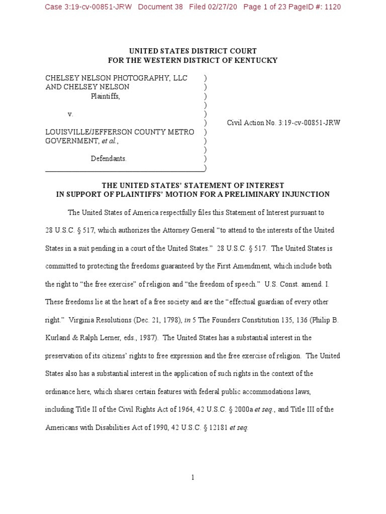 united states statement of interest 2272020