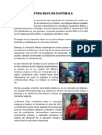 HISTORIA MAYA EN GUATEMALA