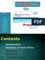 slide of intel vtune