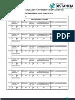 Formato para validar la entrevista a estudiantes