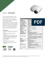 Vivitek D912HD Datasheet French.pdf