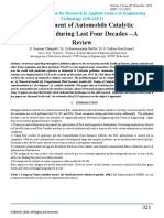 2014_Development of Automobile Catalytic Converter during last four decades A Review