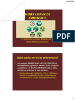 Servicios Ambientales 2016