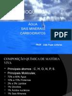 Aula de Agua Sais e Carboidratos Curso Isolado