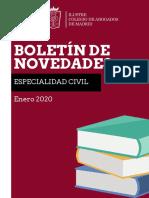Boletín Civil Enero