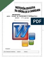 GUÍA TECNOLOGÍA E  INFORMÁTICA GRADO QUINTO P1.pdf