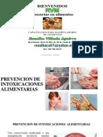 Presprevencion de contamianciones alimentarias