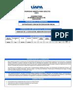 EDU 344 Estrategia Lúdicas Nivel Inicial