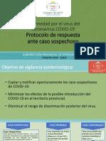 Protocolo Coronavirus COVID-19