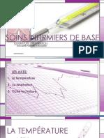 SOINS INFIRMIER de BASE Température-respiration PDF