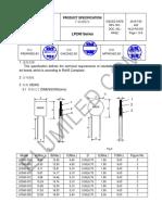 LP240-040 fusibles rearmables