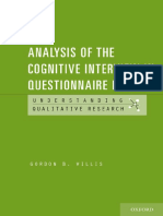 (Understanding Qualitative Research) Gordon B. Willis - Analysis of the Cognitive Interview in Questionnaire Design-Oxford University Press (2015)