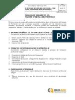 00-Relación Documentos PEA Aprendices