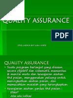 QUALITY ASSURANCE 5