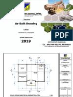 As-Built Drawing Kantor Pembibitan Pertanian Sidera III.pdf