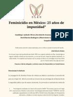 Feminicidio en México_ 25 años de impunidad_0