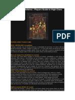 Vampire Dark Ages - Qualidades e Defeitos - Players Guide to High Clans [Português].doc