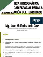 Cuenca Hidrograf Unidad Planificacion