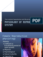 Physiology of Reproductive System