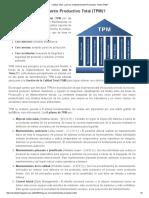 Calidad Total_ ¿Qué es el Mantenimiento Productivo Total (TPM)_