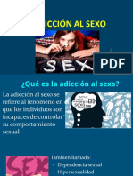 Adicción al sexo