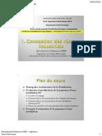 COURS DE  DISTRIBUTION ELECTRIQUE – 1 -  CONCEPTION D'UNE  INSTALLATION