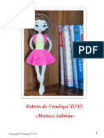 4 Muñeca Sabrina