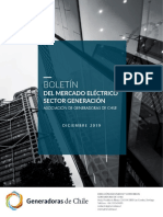 Boletin Mercado Electrico Sector Generacion