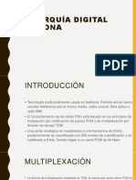 PDH Jerarquía digital plesiócrona 2018