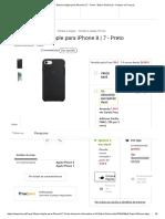 Capa Silicone Apple para iPhone 8 _ 7 - Preto - Bolsa Telemóvel - Compra na Fnac.pt