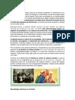 historia de la familia, necesidades economicas y afectivas