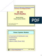 EE251 Notes0 - Power System Models.pdf