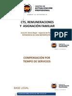 CTS REMUNERACIONES Y ASIGNACION FAMILIAR