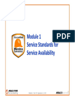 MECO Module 1 Service Availability