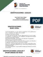 GRATIFICACIONES LEGALES (1)