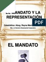 EL MANDATO Y REPRESENTACIÓN