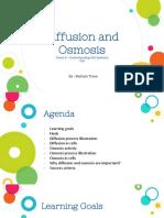 Mariam Toma Biology Micro teaching -Osmosis and Diffusion