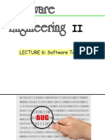 Lecture 6 - Software Testing