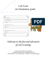 Cub Parent Orientation Guide