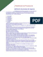 3.1.- Análisis y Redefinición de Procesos de Negocios.