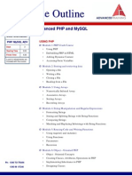 Advanced PHP and MySQL