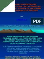 PSDAL 3 (Perusakan dan Pencemaran Lingkungan, serta Upaya Konservasi